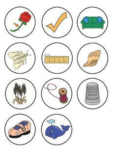 Consonant Digraph Sorting Pictures image 3  free