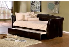 I want this! A daybed! Awesome if we ever needed an extra bed.