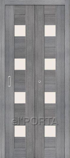 The Door Factory el\u0027PORTA / Model Bifold Porta-23 Grey & The Door Factory el\u0027PORTA / Model: Bifold Porta-23 Cappuccino ...