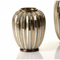 en nuryba jarrn de jarrn dorado decoracion online de muebles tienda de de cristal jarrones visitar