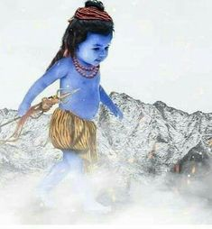 Baby Shiv ♡ ॐ .........💫z❤️NSpiceC🌶🦋17June2019~*🔥 Rudra Shiva, Mahakal Shiva, Shiva Statue, Lord Shiva Hd Wallpaper, Lord Krishna Wallpapers, Radha Krishna Images, Lord Krishna Images, Shiva Angry, Photos Of Lord Shiva