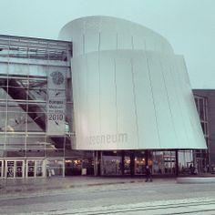 Ozeaneum Wetenschapsmuseum in Stralsund Duitsland (DDR)  2009