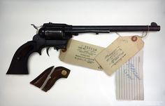 "Hi-Standard Double Nine Longhorn ""Buntline"" Styled .22 Caliber Revolver | Charles Manson Family and Sharon Tate-Labianca Murders | Cielodrive.com"