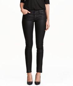Super Skinny Low Jeans | Svart | Dam | H&M SE