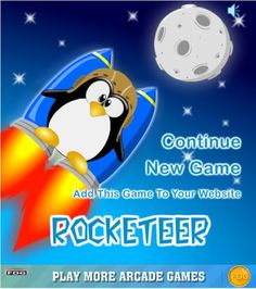 Free flight games online for PC ROCKETEER