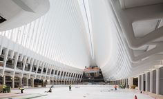 This afternoon, in time for New York's evening rush, Santiago Calatrava's World Trade Center Transportation Hub finally made its public debut. But after more than a decade of construction, little fanfare marked the milestone for the much delayed, nearly $4 billion project, which was originally slated to open in 2009 and at first estimated to cost $2.2 billion.