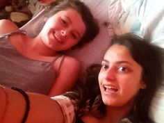 BFF Girlfriends in Bed Selfie Surprise Photobomb by Spider - Gross ---- best hilarious jokes funny pictures walmart humor fail