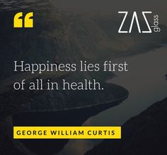 Happiness Lies in Good Health #wisewords #inspiration #health #zazglass @miss_zaz  🙏🏻🙏🏻😀