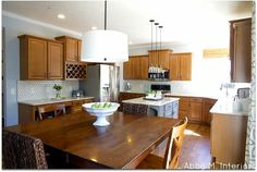Abby M. Interiors Client Kitchen: Phase Two-great ex: of how to transform kitchen in stages