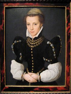 Caterina Van Hemessen, Portrait of a Young Lady, c. 1560