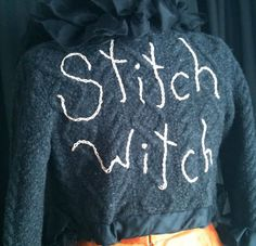 The Stitch Witch Upcycled / Recycled Sweater by bonjourteaspoon