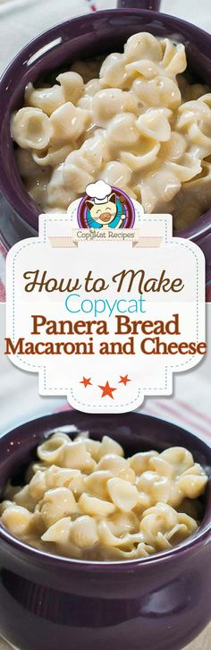 Make your own bowl of Panera Bread Macaroni and Cheese at home with this easy copycat recipe.
