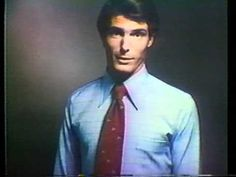 Christopher Reeve for JC Penney 1974 TV commercial