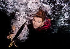 Curious Underwater Photos of Actors Playing Shakespeare Characters