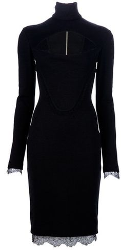 Emilio Pucci Fitted Dress in Black