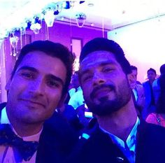 PIC - One more new pic of @shahidkapoor from wedding reception
