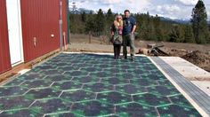 Solar Roadways' panels have heating elements to melt snow and ice,five-color LED lighting to create road lines, and corridors for moving and storing stormwater. Description from globalpossibilities.org. I searched for this on bing.com/images