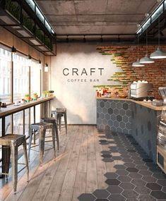 Craft Coffee Bar by @ml_3dstudio!