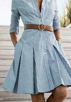 New Style Clothes Michael Kors 41 Ideas Simple Dresses, Casual Dresses, Short Dresses, Fashion Dresses, Summer Dresses, Chic Dress, Dress Skirt, Work Attire, Business Fashion