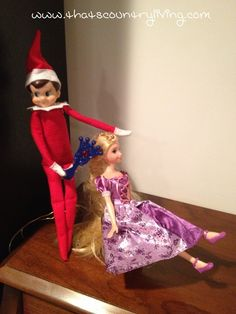 Looking for new ideas for your elf on the shelf? Check out the best list of easy Elf on the Shelf ideas. There are hundreds of ideas with pictures! Elf Ideas Easy, Awesome Elf On The Shelf Ideas, Elf Decorations, Elf Christmas Decorations, Christmas Ideas, Christmas Elf Costume, Christmas Elf Doll, Christmas Salon, Xmas