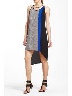 asymmetrical dresses for women   BCBGMAXAZRIA CICI ASYMMETRICAL TANK DRESS   Women's Clothing
