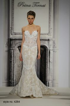 Daring and Sexy Pnina Tornai Wedding Dresses Spring 2014 Part 2