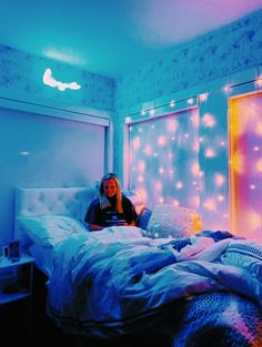 Room Ideas Bedroom, Teen Room Decor, Girls Bedroom, Bedroom Decor, Bedrooms, Bedroom Inspo, Summer Bedroom, Chill Room, Cozy Room