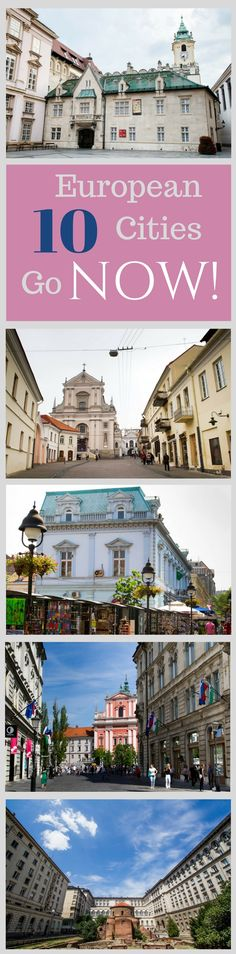 Not sure where to go in Europe? We've listed some lesser known and beautiful capital cities in Eastern Europe that we think you will love. Click here to start your travel planning!...................................................................travel destination | guide | weekend | citybreak | Europe