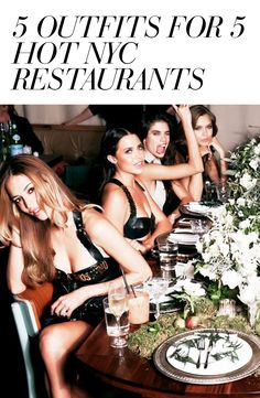 No place on Earth beats New York for dining. Nope, not San Fran. Not Paris, though it tries really hard. L.A. might be cheaper, but better? No way. The hottest restaurants in NY usually have epic wait times and there is always a dress code - even if it's an unwritten dress code. With these tips you'll fit right in at the restaurants everyone is talking about now. Take advantage of 25% off your purchase from 05/22/2015 - 06/1/2015. #Zindigo #ZindigoDaily