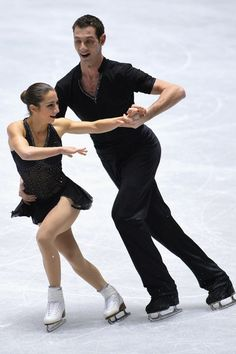 Paige Lawrence and Rudi Swiegers of Canada  short program during  2013/2014 NHK Trophy,Pairs costume inspiration for Sk8 Gr8 Designs