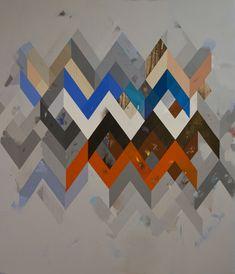 Jeff Depner, RECONFIGURED GRID PAINTING NO.15acrylic on canvas, 2011