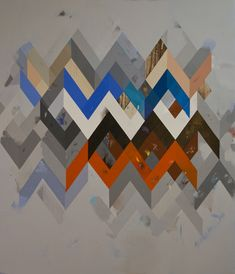 Jeff Depner, RECONFIGURED GRID PAINTING NO.15 acrylic on canvas, 2011