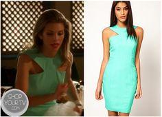 90210: Season 5 Episode 17 Naomi's Blue Dress   ShopYourTvShopYourTv