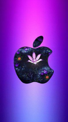 Download Violet Flower Apple 640 x 1136 Wallpapers - 4185896 - Apple Flower Fractal | mobile9