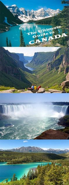 The Ultimate Guide to Canada. Thinking of visiting Canada. Have a look at this HUGE guide on this massively beautiful country. Ottawa, Vancouver Tourist Attractions, Banff, Dream Vacations, Vacation Spots, Visitar Canada, Pvt Canada, Quebec Montreal, Places To Travel