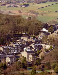 Haworth Village, Yorkshire, England...home of the Bronte Parsonage.