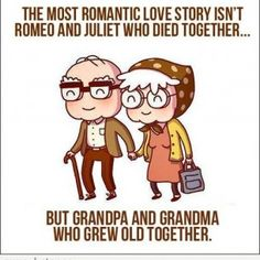 there is nothing cuter than an old couple who are still crazy in love with each other