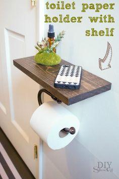 Das Badezimmer dürfen wir auch nicht vergessen... 16 supercoole DIY-Ideen - DIY Bastelideen