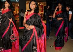 Her and the saree, wow!!!