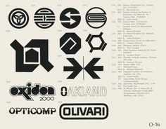 "world of logotypes… ""o"", 1970s @ mr_carl - jonasgrossmann"
