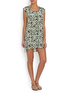 Pyrus Kit Silk Sleeveless Dress | Question Air