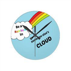 Rainbow cute quote