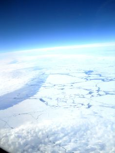 Flying over Antarctica 2010 Qantas flight from Buenos Aires to Sydney - AMAZING!