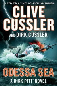Clive and Dirk Cussler sign Odessa Sea, Tuesday, November 15 at 7 PM!