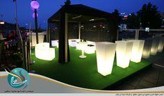 یخدان تشریفات برای مجالس عروسی و مهمانی های فضای باز و باغ
