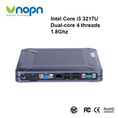 Find More Mini PC Information about New Intel Core i3 3217U Dual core 4 threads 1.8Ghz Mini PC with Fan Windows Desktops School Home Working Gaming Computer,High Quality Mini PC from Vnopn Official Store on Aliexpress.com