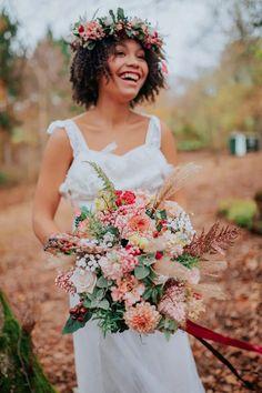 Astilbe Bouquet, Dahlia Bouquet, Fall Bouquets, Bride Bouquets, Floral Wedding, Wedding Flowers, Bridal Dresses, Flower Girl Dresses, Bronze Wedding