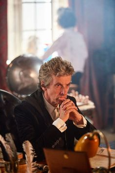 Doctor deep in thought. S.10 promo' pic.