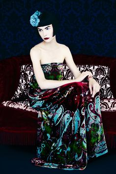 Erik Madigan Heck photographs Etro's fall winter 2013 / 14 collection.  Capture and retouching by Versatile Studios.