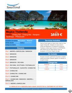 Mágica Thailandia desde 1469 € ultimo minuto - http://zocotours.com/magica-thailandia-desde-1469-e-ultimo-minuto/